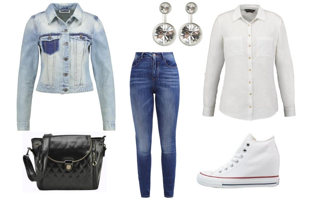 2e6f3e54716f6 Z czym nosić jeansową kurtkę - zainspiruj się