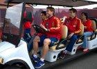Euro 2012. Dziennikarze zwiedzali centrum pobytowe Hiszpan�w