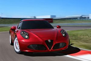 Pozna� Motor Show 2014 | Pi�kna Alfa Romeo 4C