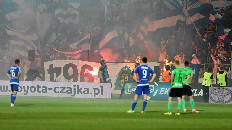 Ruch Chorzów - Górnik Łęczna (2:2)