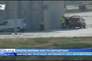 Egipski samolot porwany. Wyl�dowa� na Cyprze