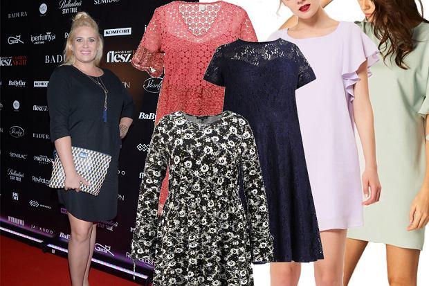Kolaż, sukienki plus size/Materiały partnera