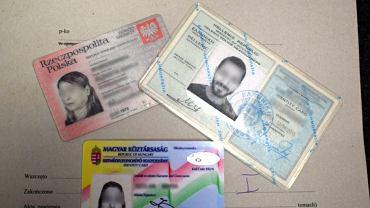 Fałszywe dowody osobiste zatrzymanych Irańczyków na lotnisku w Balicach