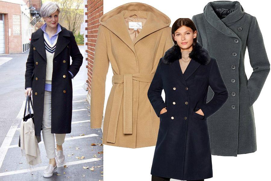 Klasyczne płaszcze na jesień dla dojrzałych kobiet