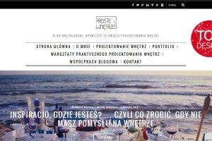 Blog Design 2015: blog.prostewnetrze.pl
