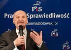Macierewicz: Wybory wygra�o PiS. Liczba g�os�w niewa�nych jest dziwaczna