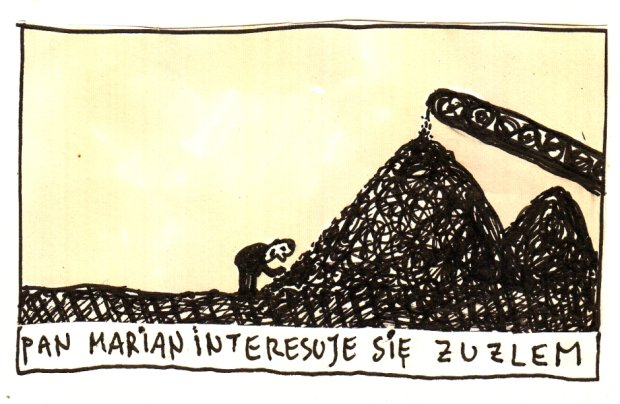Raczkowski o żużlu -  - rys. Marek Raczkowski