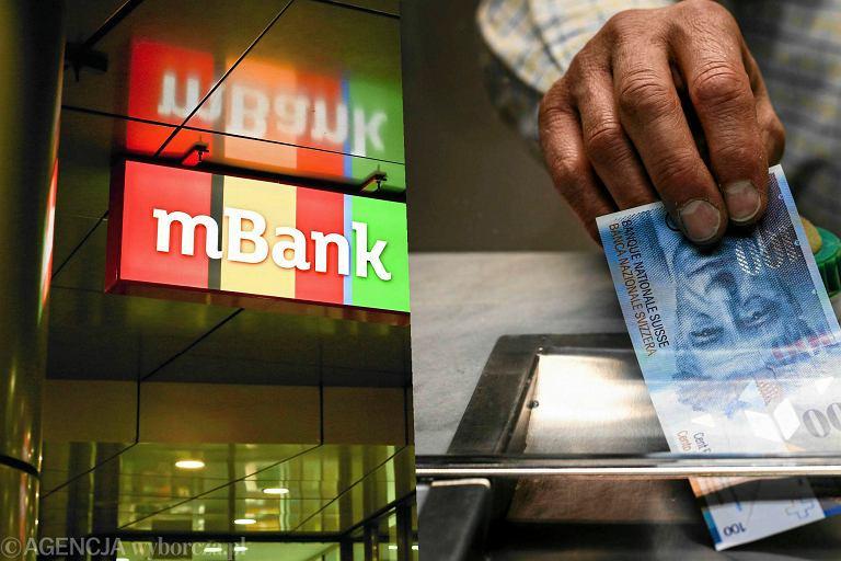 mBank, kredyty we frankach