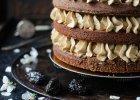 Kawowy tort brownie ze śliwkami kalifornijskimi. Przepis autorki Candy Company - kulinarnego Bloga Roku 2015