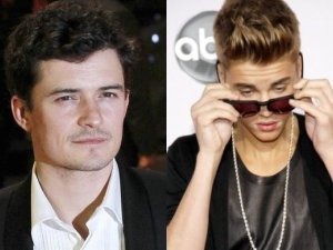 Orlando Bloom i Justin Bieber