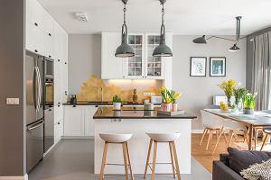 Mieszkanie w stylu skandynawskim z elementami boho