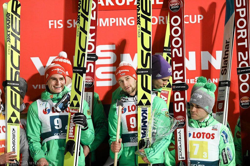 Puchar Świata w skokach narciarskich w Zakopanem. Konkurs drużynowy