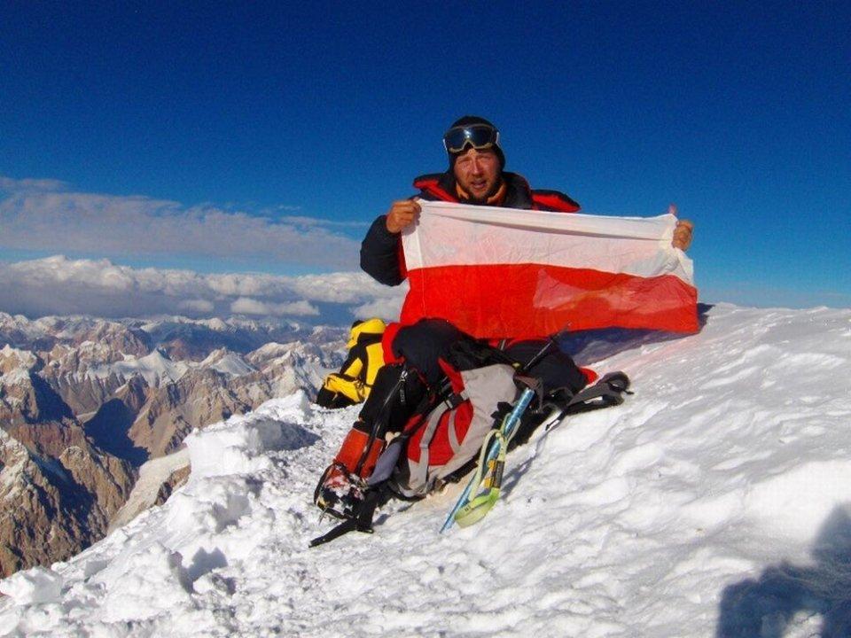 Paweł Michalski, szczyt Gasherbrum I, rok 2007
