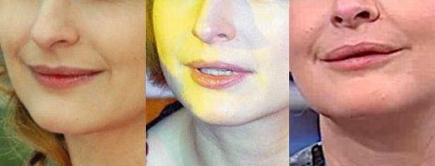 Dominika Ostałowska, usta, wargi