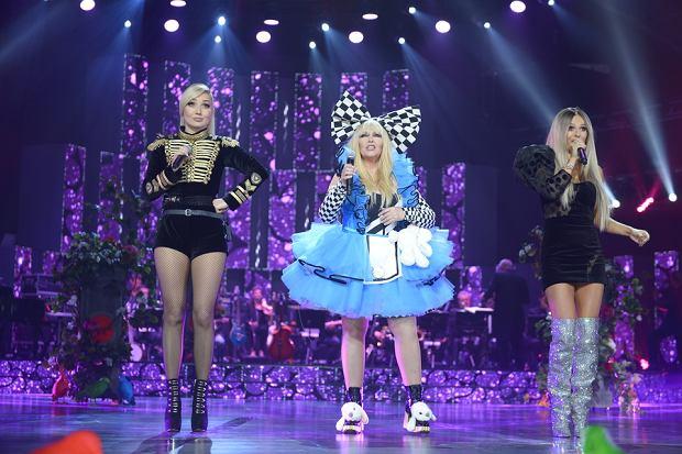 Cleo, Maryla Rodowicz i Doda podczas występu