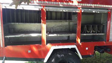 Okradli strażaków