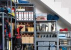 11 pomys��w na wykorzystanie miejsca pod schodami