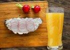 Szklanka soku do śniadania