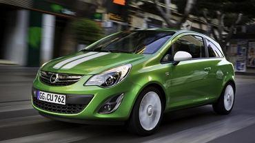 Opel Corsa. Opel Corsa Van to przykład auta dostawczego na bazie zwykłej osobówki. Przedziały towarowe takich aut mają pojemność ok. 1 m3