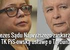 Prof. Małgorzata Gersdorf/ Jarosław Kaczyński