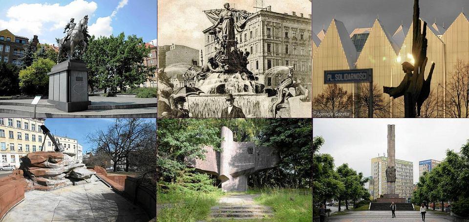Szlakiem pomnik�w szczeci�skiej niezgody