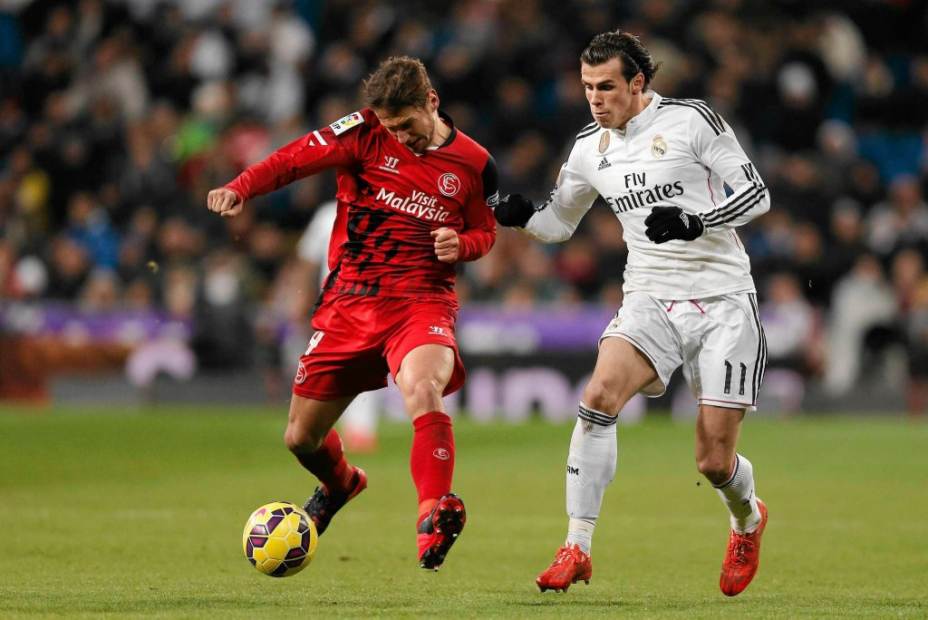 Grzegorz Krychowiak i Gareth Bale