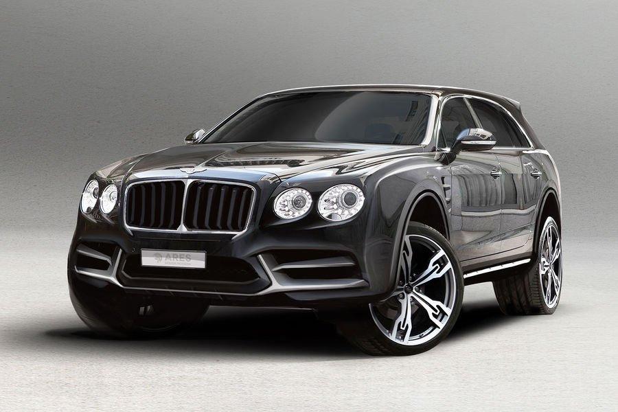 Bentley Flying Spur SUV koncept