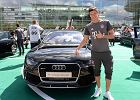 Robert Lewandowski wje�d�a w nowy sezon za kierownic� Audi