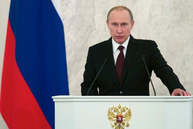 Doroczne or�dzie prezydenta Putina. Widzi Rosj� na czele... konserwatywnej mi�dzynarod�wki