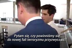 Reporter TVP ścigał posła PO po budynku sejmu, by przerzucać się z nim pytaniami