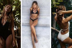 Kostiumy od Jessiki Mercedes modelują sylwetkę. Podobne modele warto zabrać na urlop