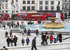 Londyn , Trafalgar square