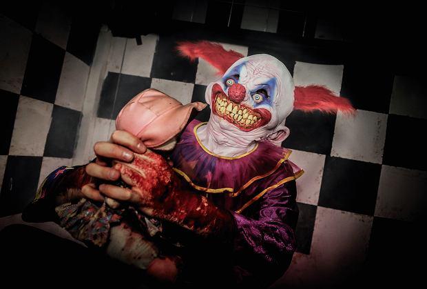 Najwięcej ludzi boi się klaunów.