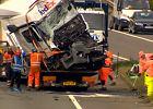 Polak spowodował w Wielkiej Brytanii największy wypadek od 24 lat. Na jaw wychodzą nowe fakty