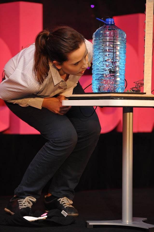 Karolina Nowak, zwyciężczyni konkursu FameLab 2016