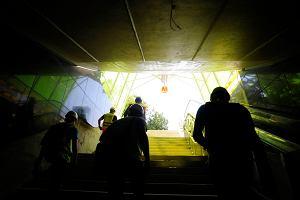 To b�dzie najbardziej oblegana stacja metra. Warszawiacy ogl�dali �wi�tokrzysk�