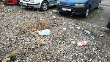 Śmietnisko na Mokotowie