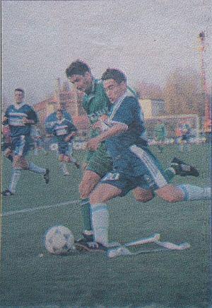 Robert Kolendowicz, mecz Lech Poznań - Zagłębie Lubin 4:0 (1998)