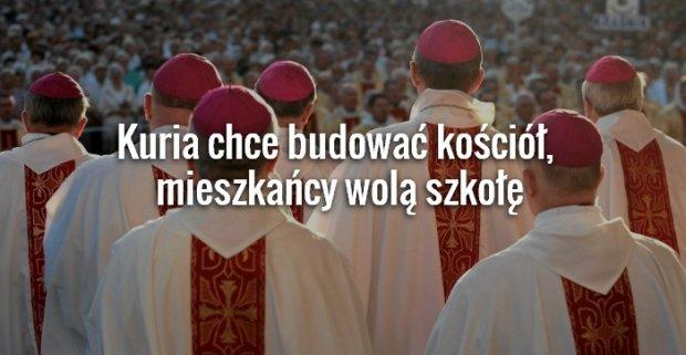 Prezydent Lublina chce sprzeda� Ko�cio�owi dzia�ki za 10 proc. ceny. Mieszka�cy si� postawili