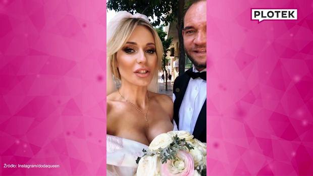 Doda ogłosiła w sobotę, 14 kwietnia, że właśnie poślubiła ukochanego, Emila Stępnia. W poniedziałek dodała nagranie, w którym ubrana w suknię ślubną poinformowała, że właśnie wzięli kolejny ślub.