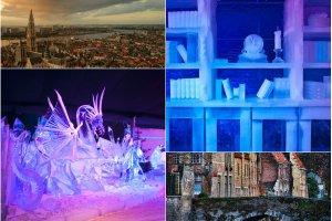 Festiwal rze�b lodowych - tu nawet �li czarnoksi�nicy nie s� straszni, bo za kilka tygodni si� rozpuszcz� [BRUGIA]