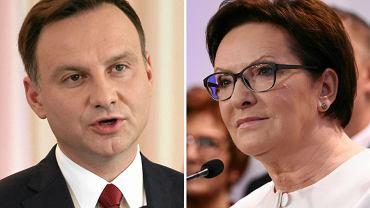 Andrzej Duda, Ewa Kopacz