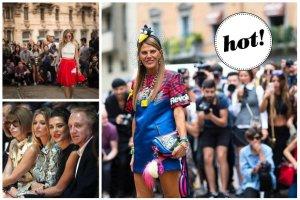 Milan Fashion Week: Niesamowite stylizacje Anny Dello Russo, elegancka Kate Moss, Chiarra Ferragni w sp�dnicy z pudelkiem (!) oraz skromna ksi�niczka Monako (ZDJ�CIA)