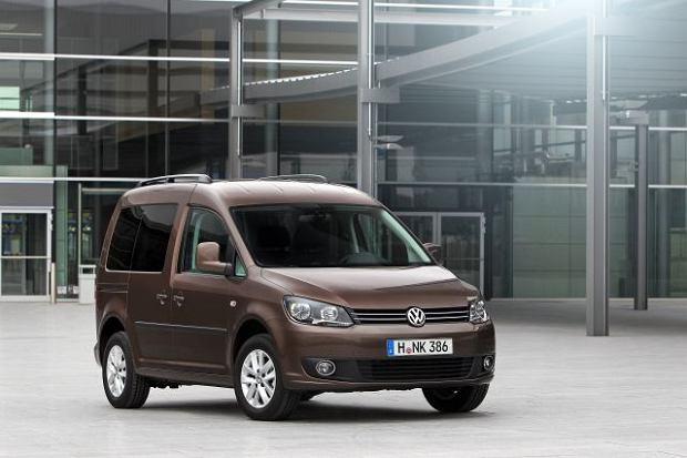 VW Caddy BiFuel - seryjnie z LPG