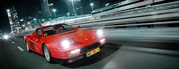 Ferrari Testarossa   Test   Nocne espresso