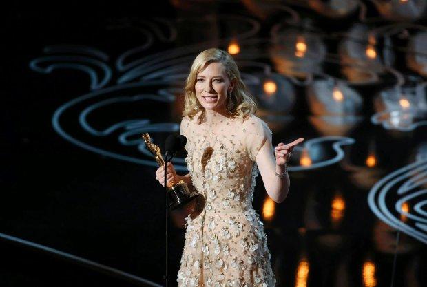 Cate Blanchett - z Oskarem dla najlepszej aktorki pierwszoplanowej