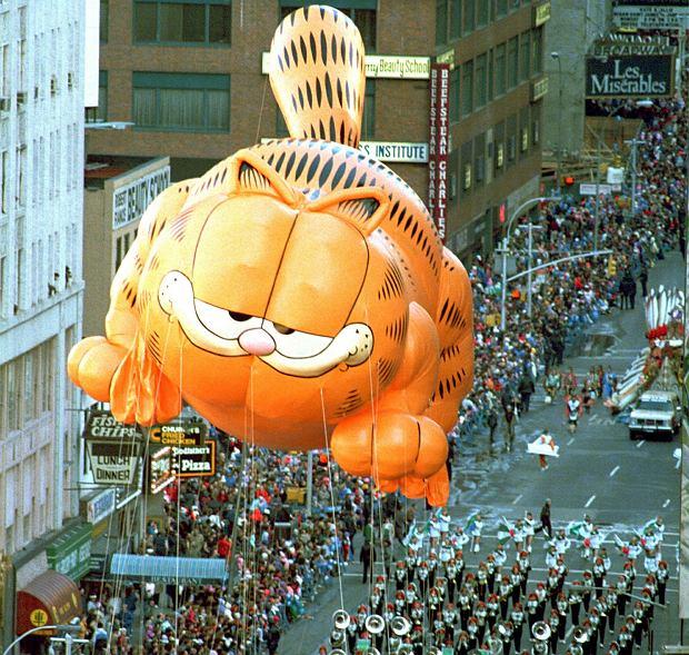 Garfield Ucieleśnienie Przywar I Wstydliwych Zachcianek Rudy Kot