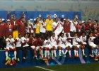 Drużyna Peru z brązowymi medalami