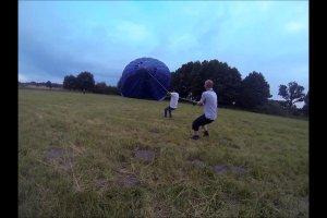 Lot balonem nad Stawami Milickimi