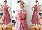 Weekend w stylu Avanti: sukienka retro w kratkę vichy